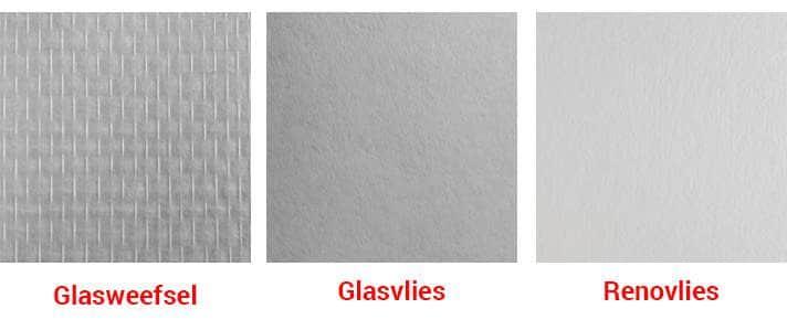 Glasweefselbehang prijs